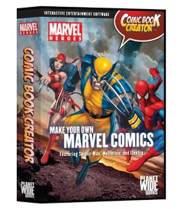 Make Your Own Marvel Comics!