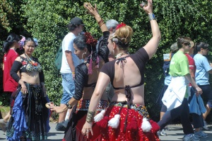 Belly Dancers Going Strong